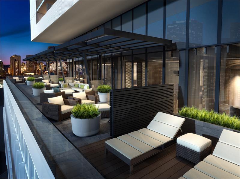 Alter Condos Terrace Lounge Toronto, Canada