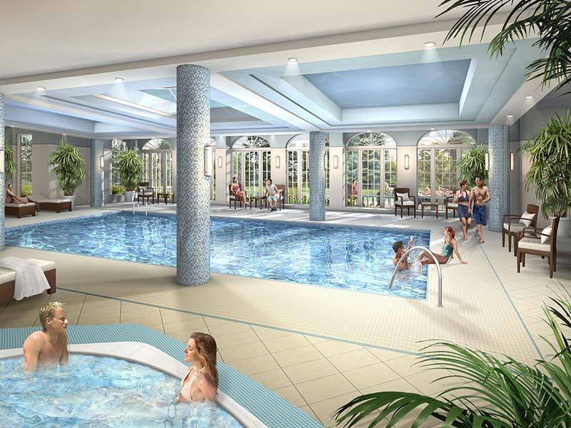 Aria Condos Swimming Pool Toronto, Canada