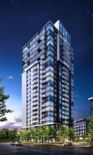 Atria Condos (Alto, Trio, Parkside) Building View Toronto, Canada