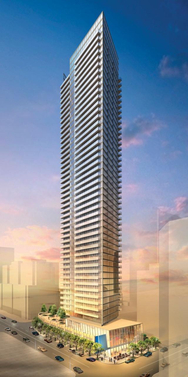 Burano Condos Building View Toronto, Canada