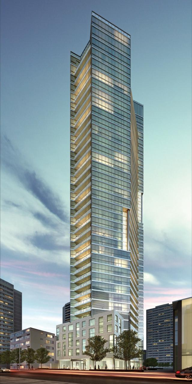 CHAZ Yorkville Condos Building View Toronto, Canada