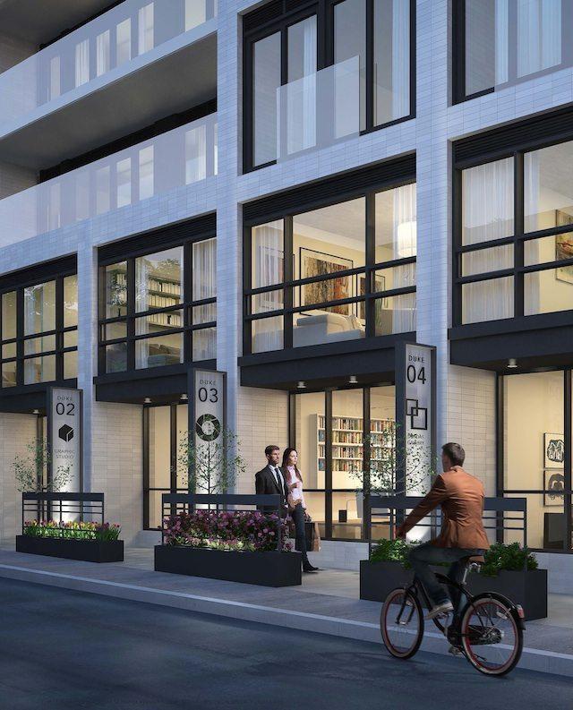 DUKE Condos Street View Toronto, Canada