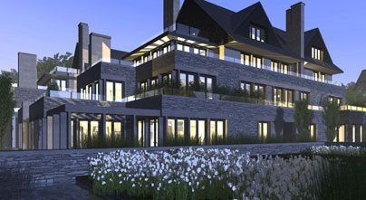 Edgemere Private Residences Front View Toronto, Canada