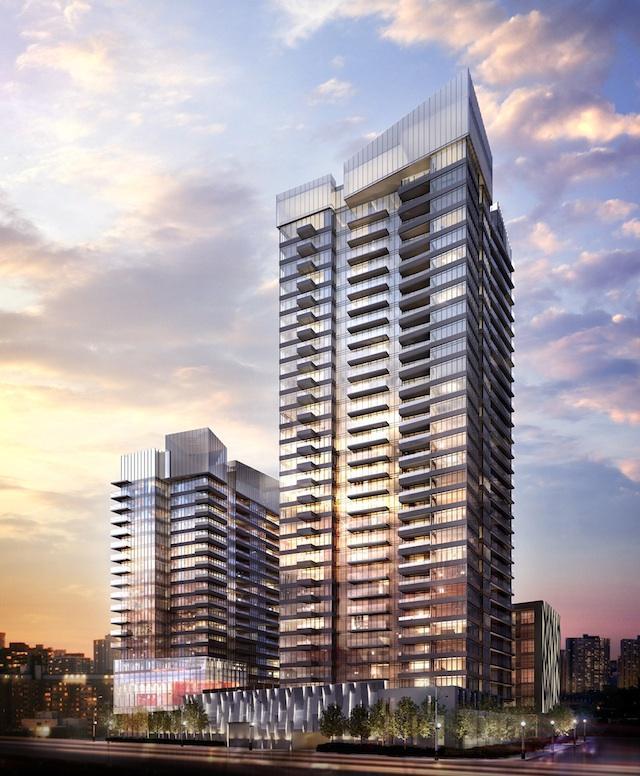 Forward Condos at Concord CityPlace Building View Toronto, Canada