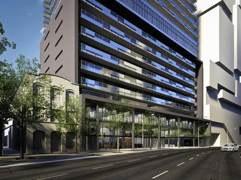 Gloss Condos Front View Toronto, Canada