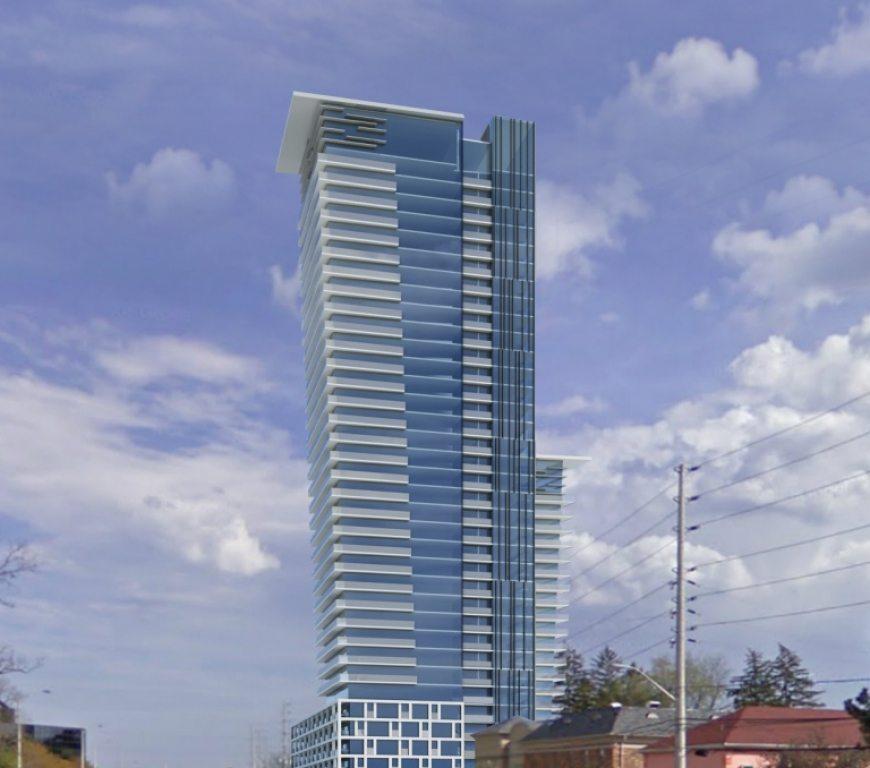 Gordon Woods Condominiums Building View Toronto, Canada