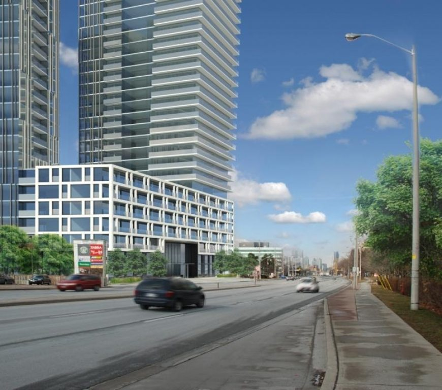 Gordon Woods Condominiums Street View Toronto, Canada