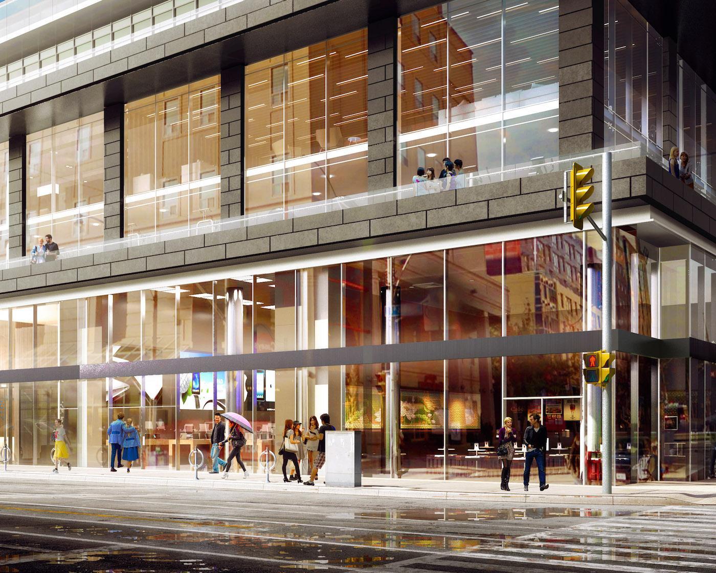 Grid Condos Street View Toronto, Canada