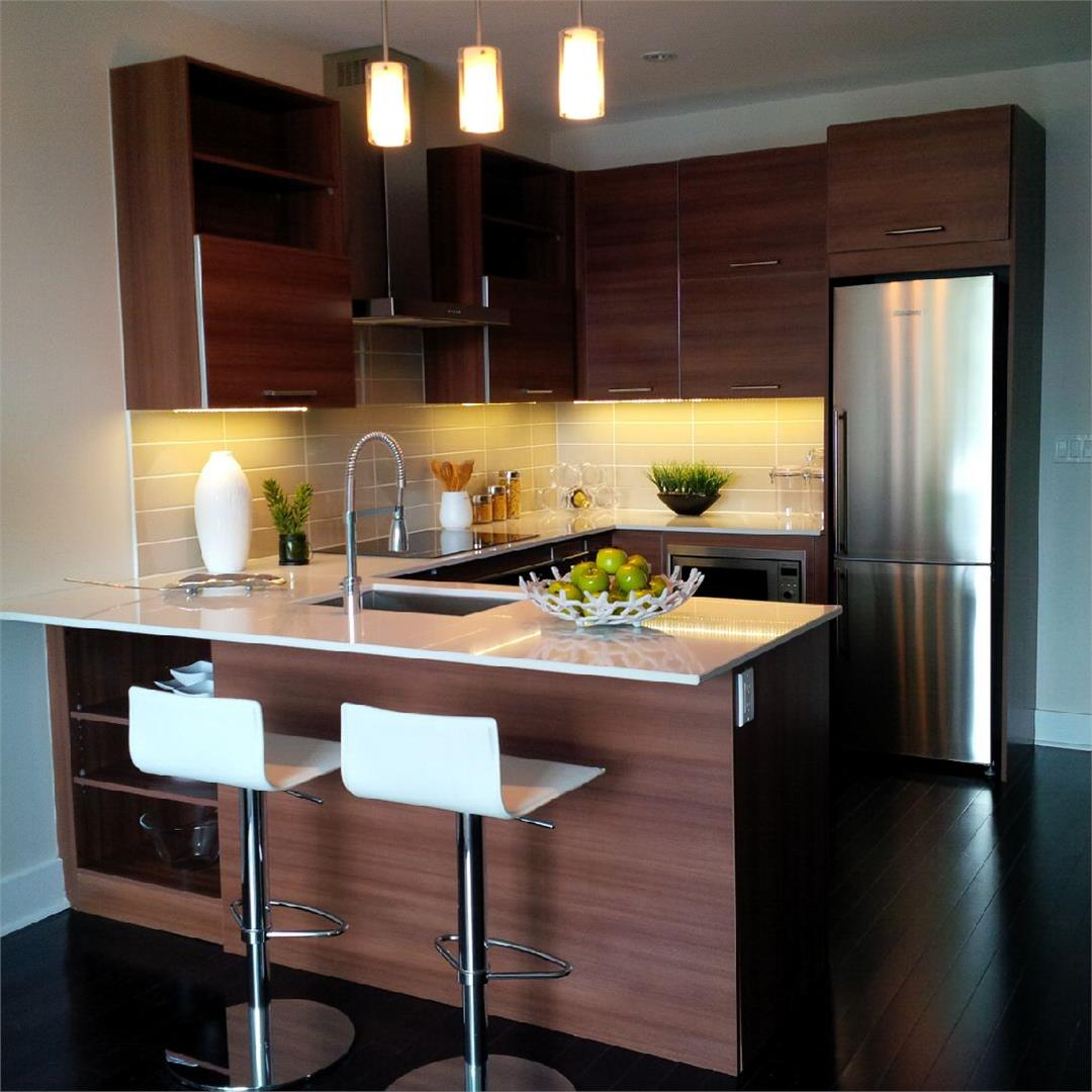Hunt Club Terrace Condos Kitchen Area Toronto, Canada