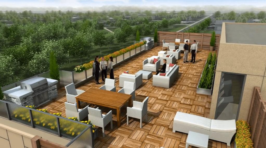 Imagine Condos Terrace Lounge Toronto, Canada