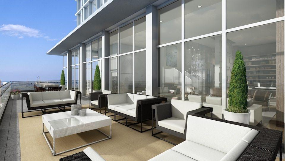 Imperial Plaza Terrace Lounge Toronto, Canada