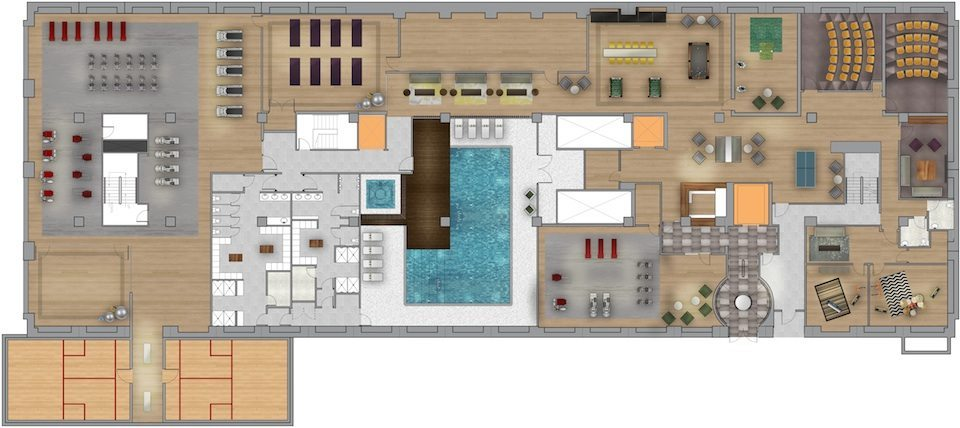 Imperial Plaza Property Plan Toronto, Canada