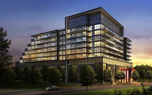 Ion Condos Building View Toronto, Canada
