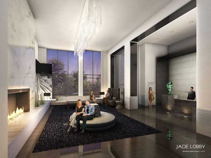 Jade Condominiums Piano Lobby Toronto, Canada