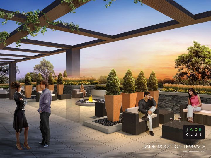 Jade Condominiums Terrace Lounge Toronto, Canada