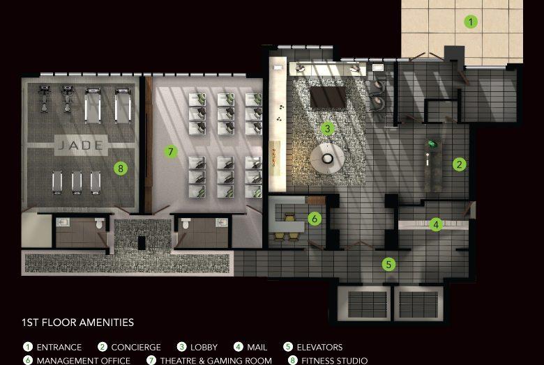 Jade Condominiums Property Plan Toronto, Canada