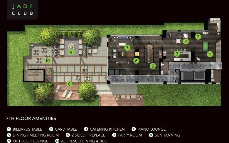 Jade Condominiums Amenities Toronto, Canada