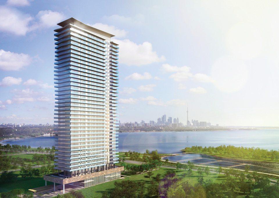 Jade Waterfront Building View Toronto, Canada