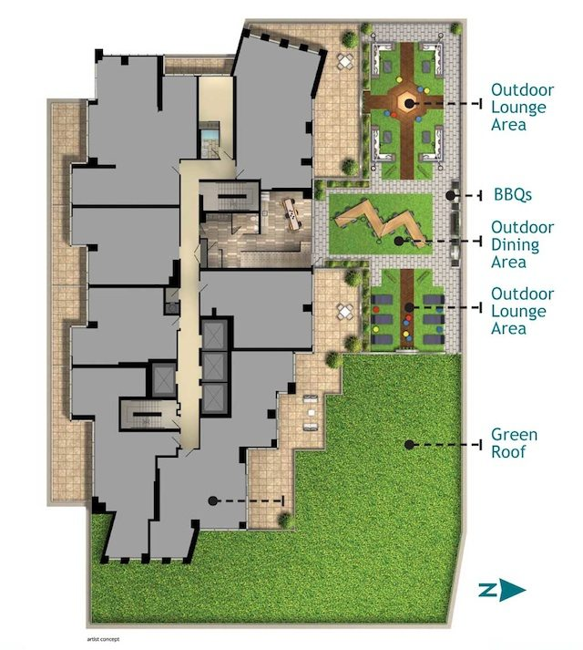 Key West Condos Property Plan Toronto, Canada
