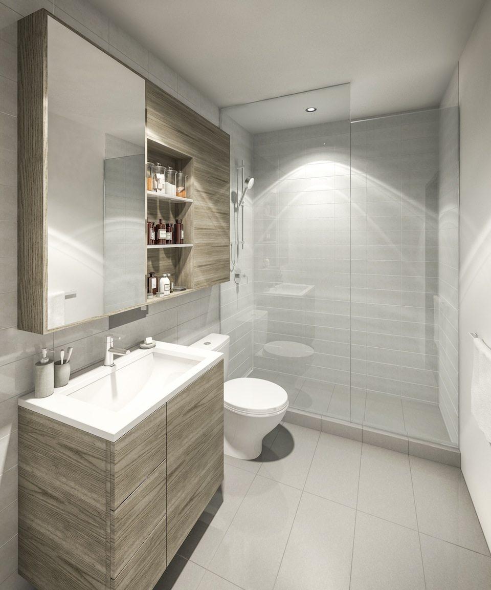 Kingston&Co Condos Bathroom Toronto, Canada