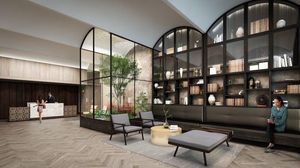 Kingston&Co Condos Library Toronto, Canada