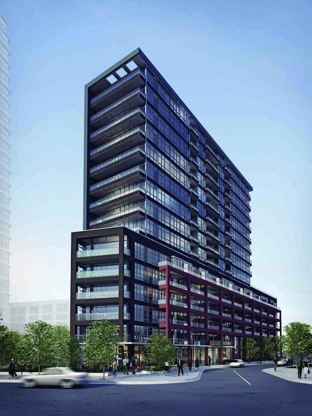 LTD Condos Building View Toronto, Canada