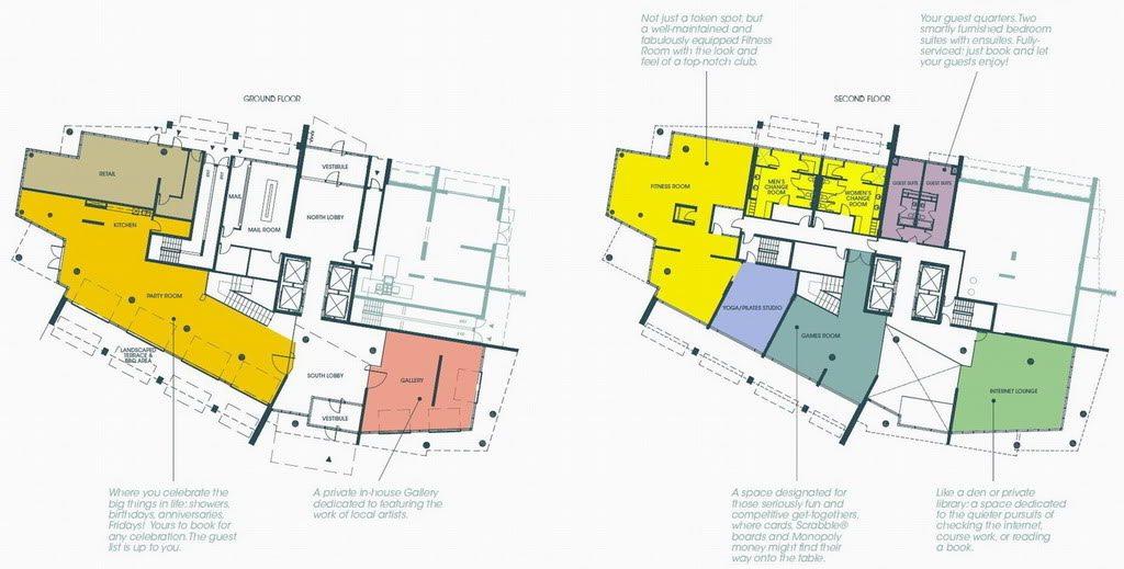 Liberty Place Condos Property Plan Toronto, Canada