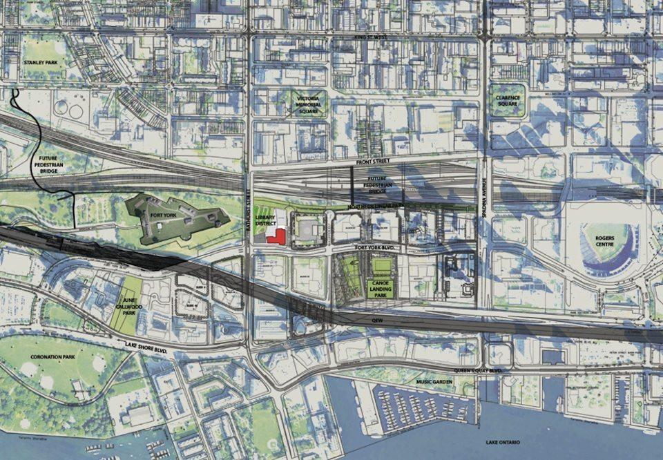 Library District Condos Map View Toronto, Canada