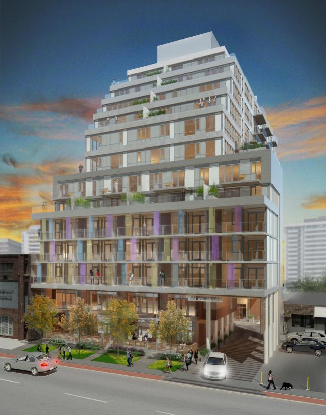 Life Condos Building View Toronto, Canada