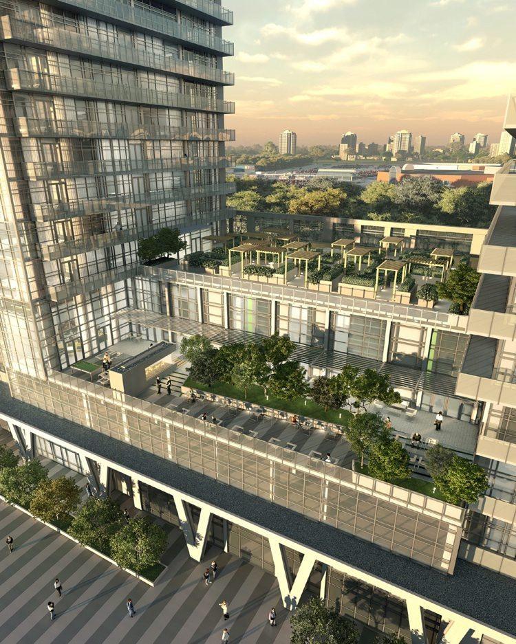 Limelight Condominiums Terrace View Toronto, Canada