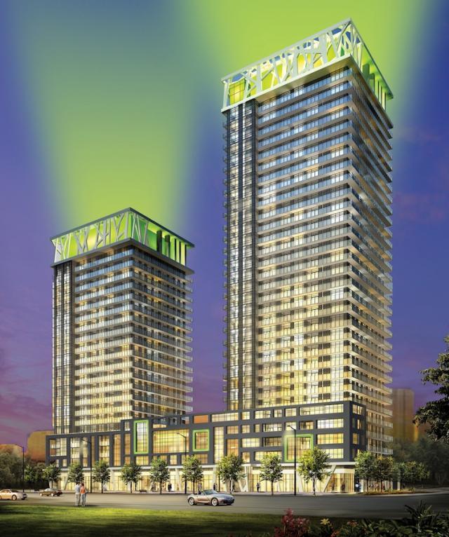 Limelight Condominiums Building View Toronto, Canada