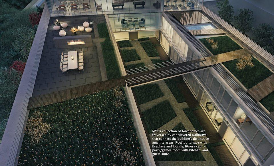 MYC Merton Yonge Condominiums Aerial View Toronto, Canada