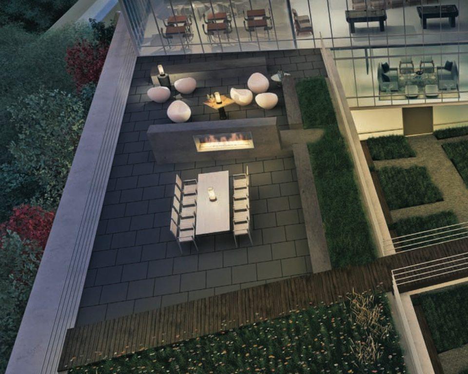 MYC Merton Yonge Condominiums Rooftop Toronto, Canada