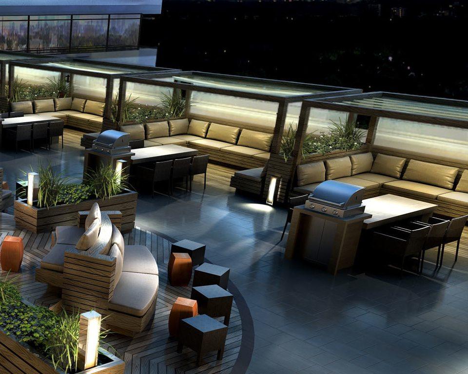 Madison Condos Terrace Lounge Toronto, Canada