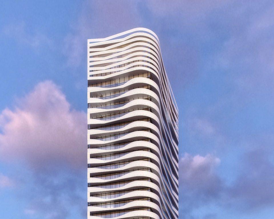 Massey Tower Condos Close View Toronto, Canada