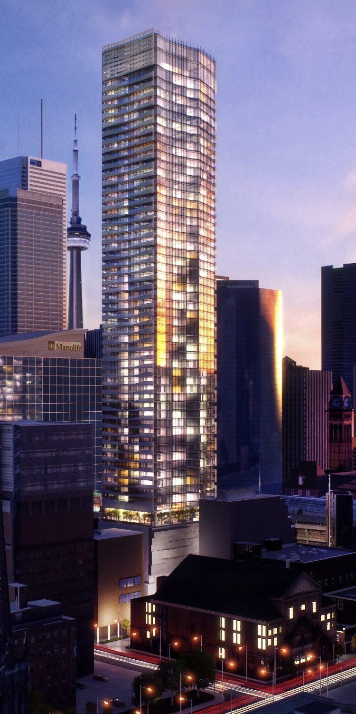 Massey Tower Condos Building View Toronto, Canada
