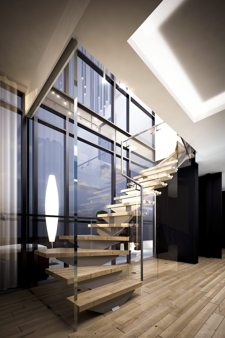 Minto775 King West Condos Stairs Toronto, Canada
