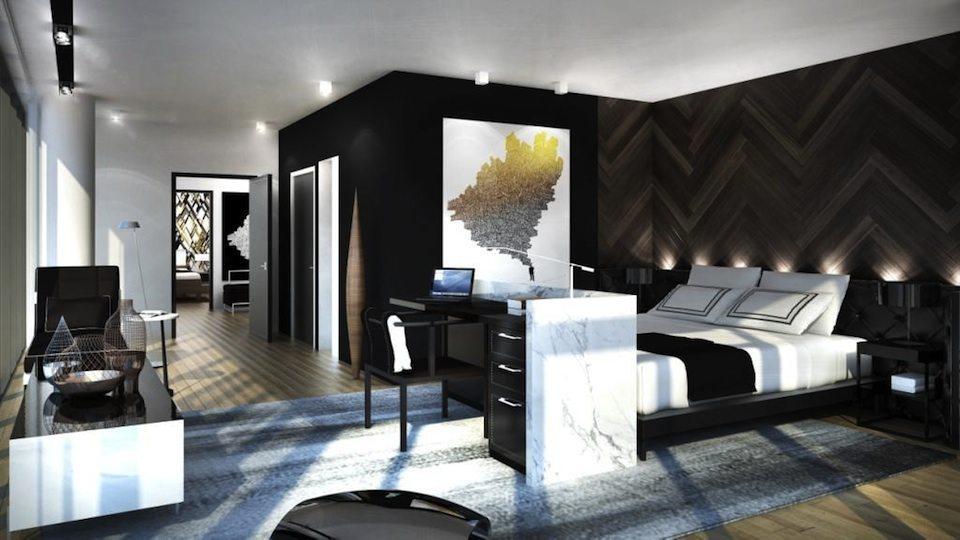 Minto775 King West Condos Bedroom Toronto, Canada