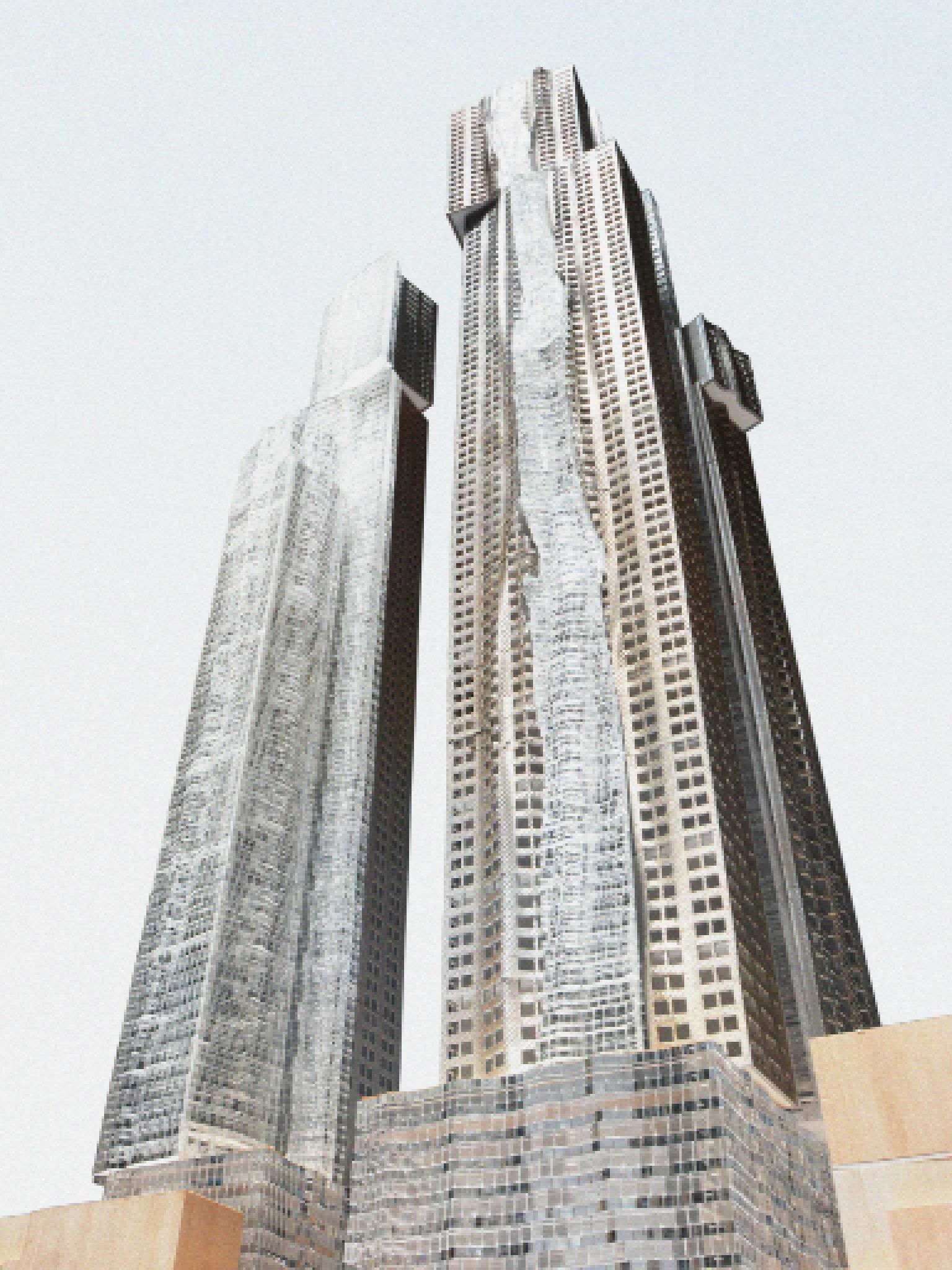Mirvish+Gehry Toronto Condos Building View Toronto, Canada