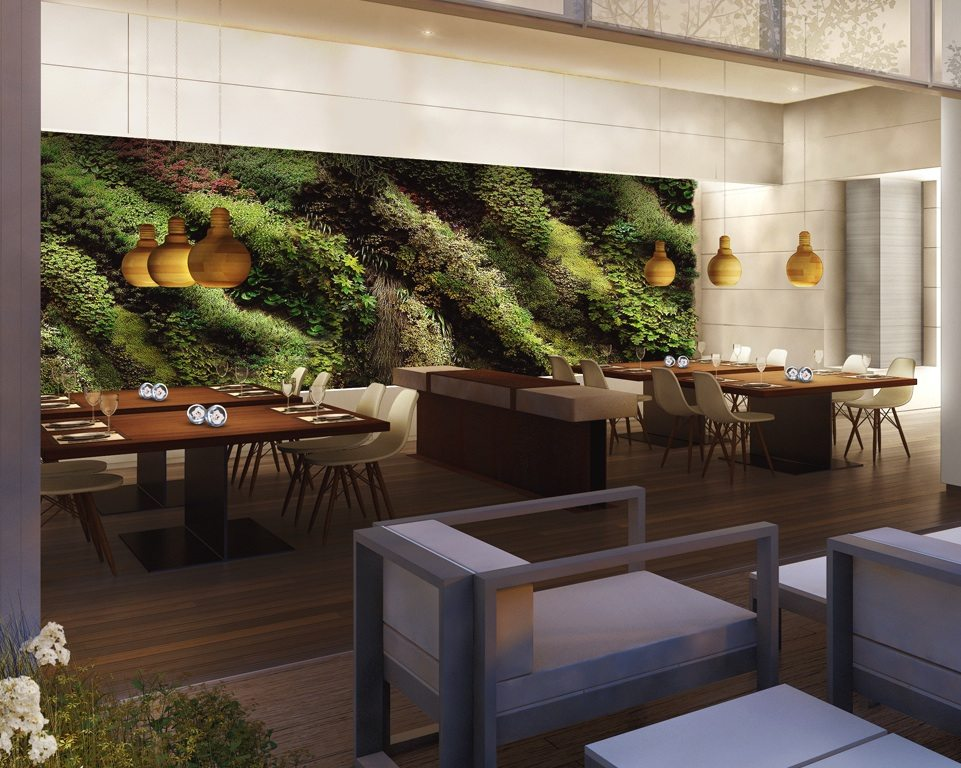 Monde Condos Dinning Area Toronto, Canada