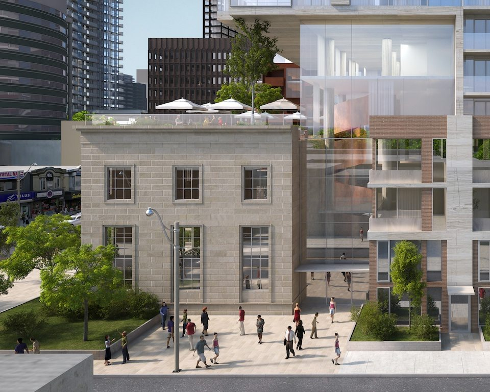 Montgomery Square Street View Toronto, Canada