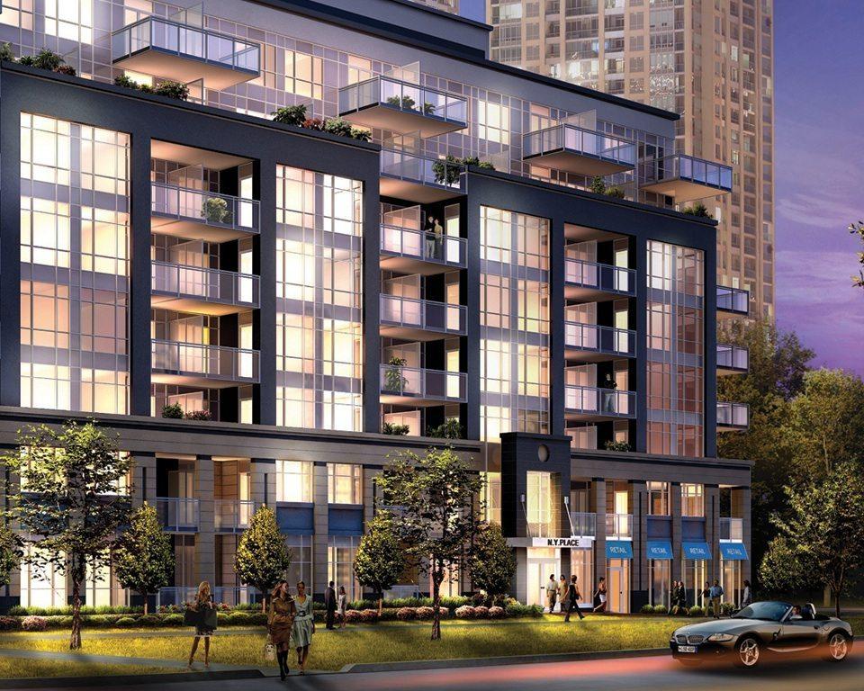 NY Place Condos Street View Toronto, Canada