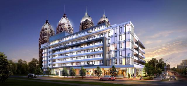 NY2 Condominiums Condos Street View Toronto, Canada
