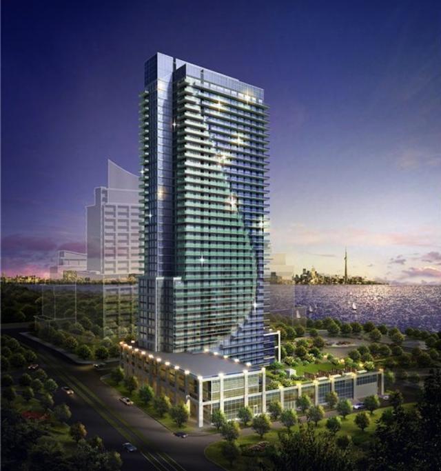 Nautilus Condos Building View Toronto, Canada
