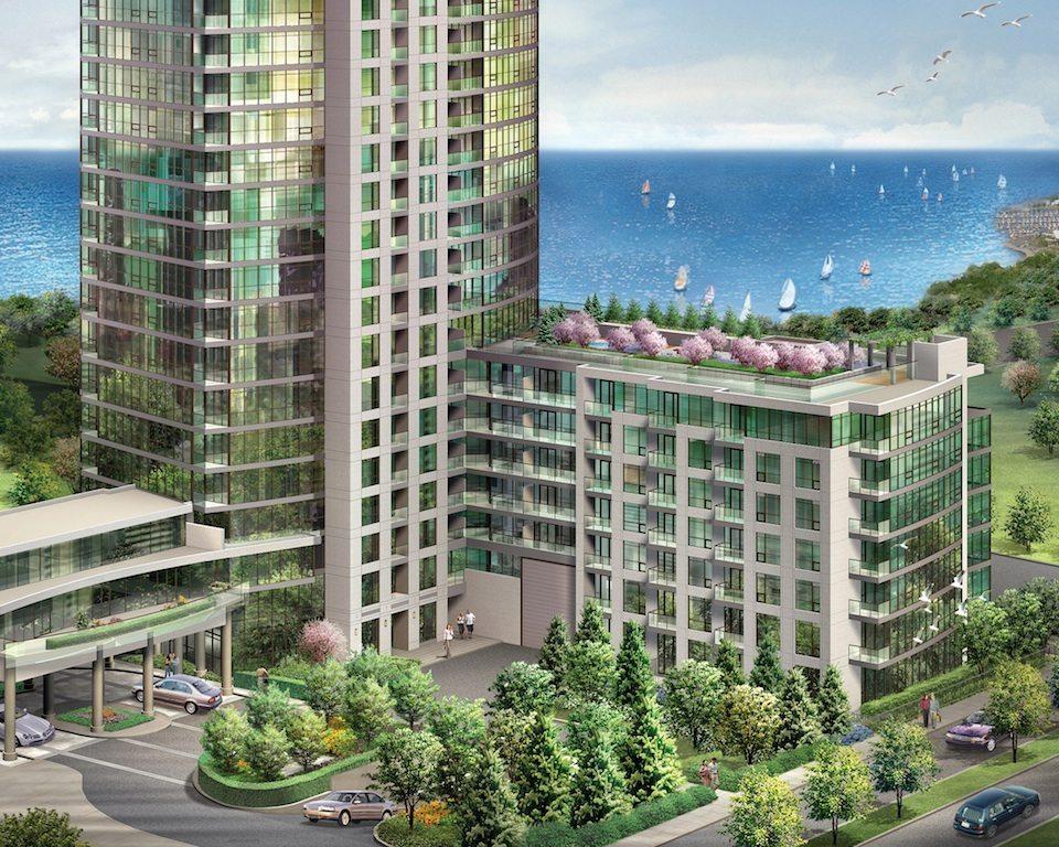Neptune + Neptune 2 Condominiums Full View Toronto, Canada