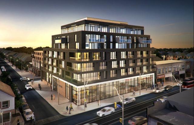 Nero Condos Building View Toronto, Canada