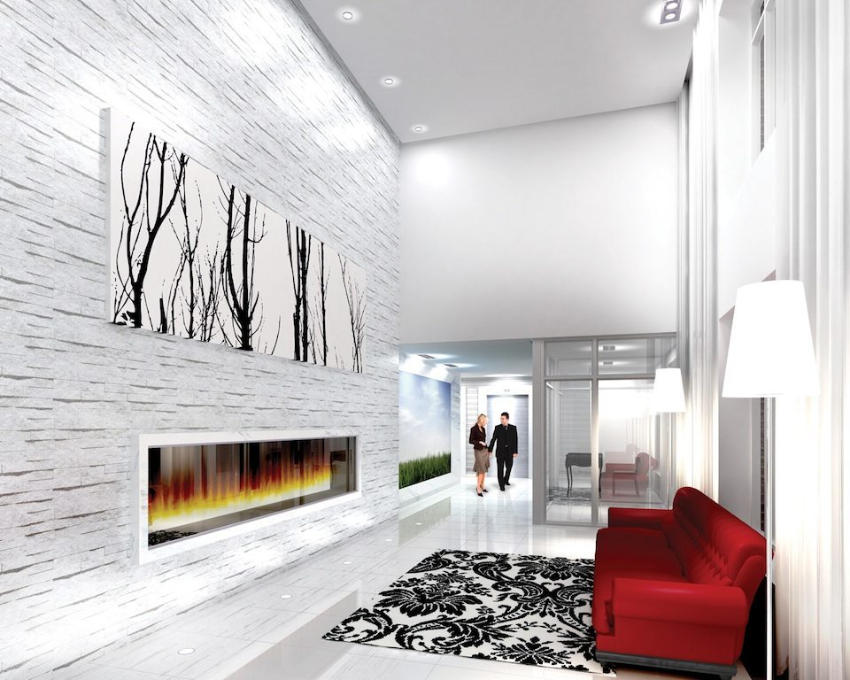 O2 Maisonettes Condos Lobby View Toronto, Canada