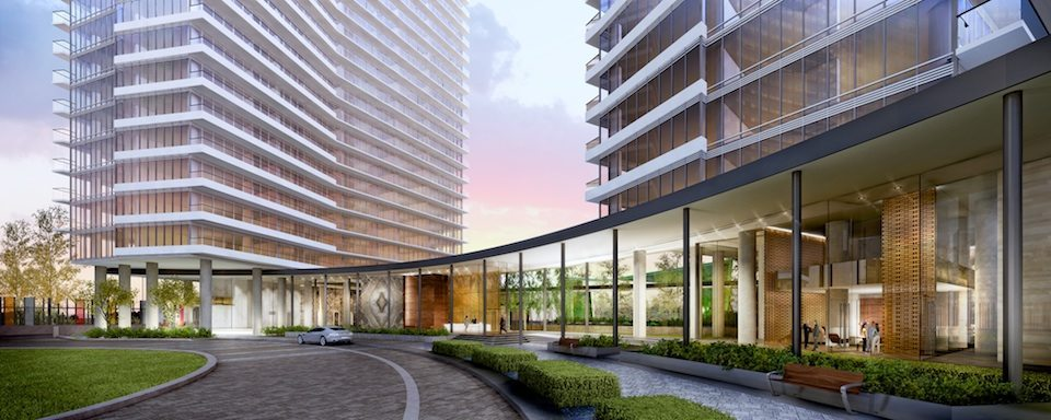 Opus at Concord Park Place Front View Toronto, Canada