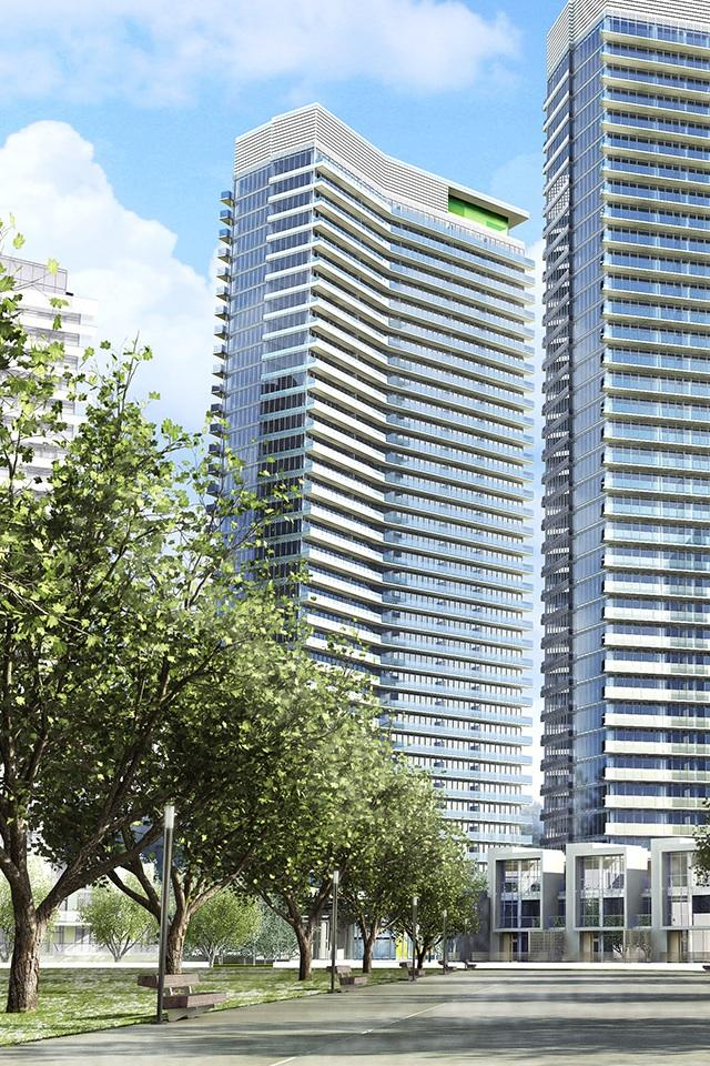 Opus at Concord Park Place Street View Toronto, Canada