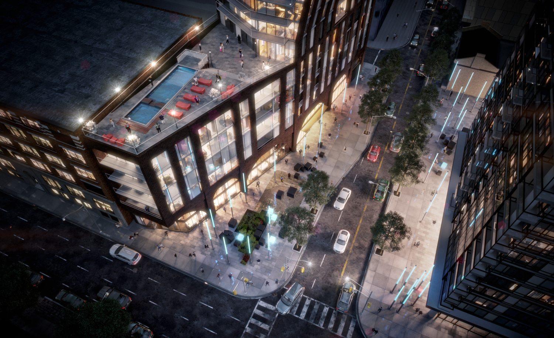 PJ Condos Rooftop View Toronto, Canada